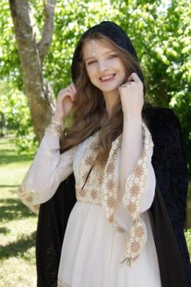 Laynie - Hands on Cloak - Doorway 6